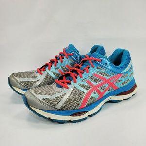 Asics GEL-Cumulus 17 Running Shoes Blue Gray